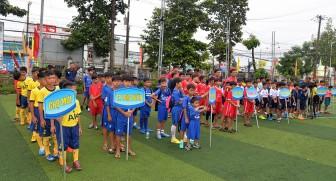 Khai mạc Giải bóng đá học sinh tiểu học tỉnh năm 2020