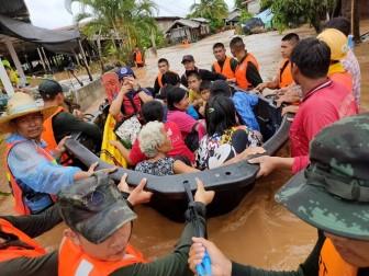 Mưa lũ gây thiệt hại nặng nề tại Thái Lan