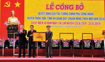 Phát huy truyền thống cách mạng, đoàn kết, sáng tạo xây dựng Đảng bộ huyện Thoại Sơn vững mạnh toàn diện