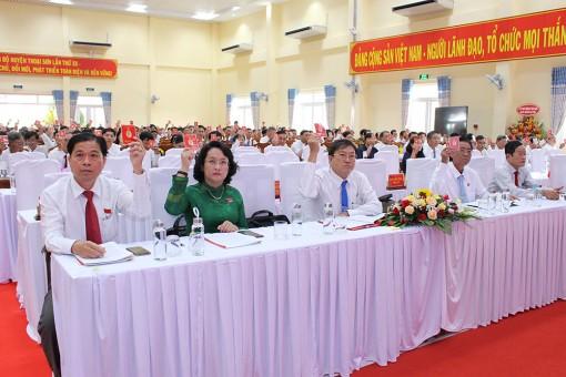 Đại hội đại biểu Đảng bộ huyện Thoại Sơn lần thứ XII (nhiệm kỳ 2020 – 2025) diễn ra phiên trù bị