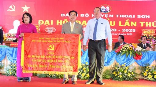 Khai mạc Đại hội đại biểu Đảng bộ huyện Thoại Sơn lần thứ XII (nhiệm kỳ 2020 – 2025)