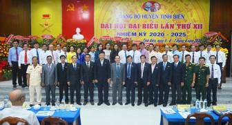Đại hội đại biểu Đảng bộ huyện Tịnh Biên lần thứ XII (nhiệm kỳ 2020-2025) thành công tốt đẹp