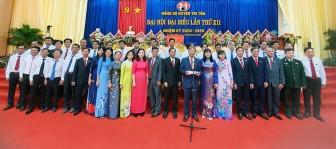 Đồng chí Cao Quang Liêm tái đắc cử Bí thư Huyện ủy Tri Tôn nhiệm kỳ 2020-2025