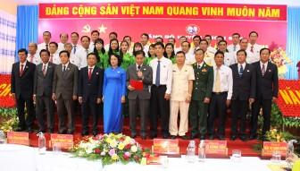 Đại hội đại biểu Đảng bộ huyện Thoại Sơn lần thứ XII (nhiệm kỳ 2020-2025) thành công tốt đẹp