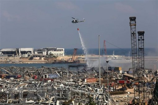 Liban bắt giữ 16 người để điều tra về vụ nổ tại Beirut
