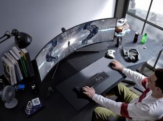 Màn hình Odyssey từ tương lai: Samsung mê hoặc game thủ