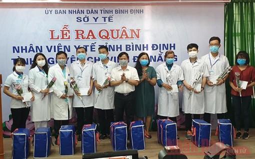 Bình Định cử thêm bác sĩ hỗ trợ Đà Nẵng