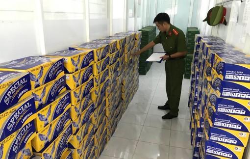 Đội Cảnh sát Điều tra tội phạm về kinh tế - chức vụ (Công an TP. Long Xuyên) phát hiện hàng hóa ngoại nhập lậu