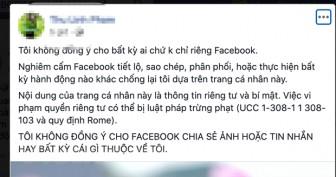 Cảnh báo người dùng Facebook lại mắc lừa trò đùa quyền riêng tư