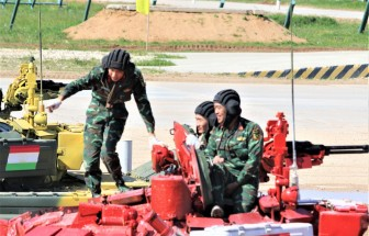 Lễ xuất quân Đoàn Quân đội nhân dân Việt Nam tham gia Army Games 2020