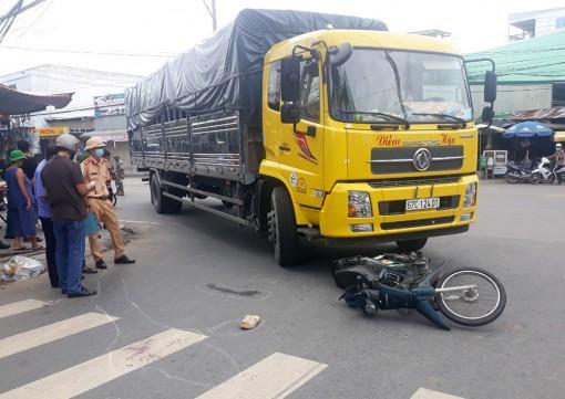 Tạm giữ phương tiện gây tai nạn giao thông chết người khu vực đường Lý Thái Tổ - Lương Thế Vinh