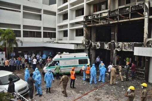 Hỏa hoạn tại cơ sở điều trị Covid-19 ở Ấn Độ, nhiều người thiệt mạng