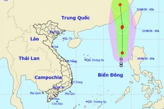 Áp thấp nhiệt đới khả năng thành bão giật cấp 10, biển động mạnh