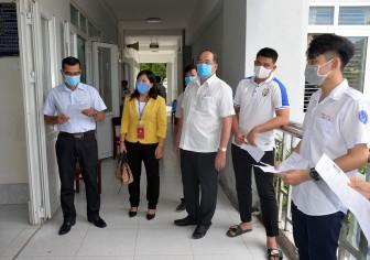 Chủ tịch UBND tỉnh An Giang Nguyễn Thanh Bình kiểm tra công tác tổ chức thi tốt nghiệp THPT năm 2020