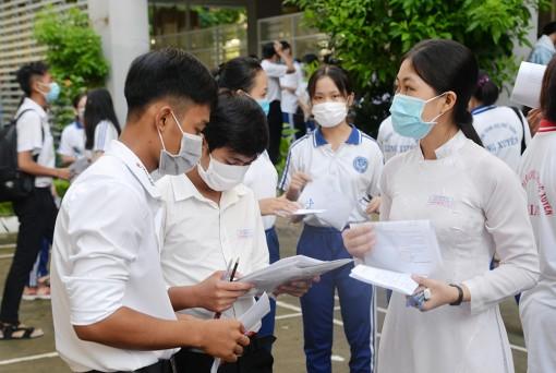 Kỳ thi tốt nghiệp THPT 2020 trên địa bàn tỉnh An Giang diễn ra an toàn, nghiêm túc