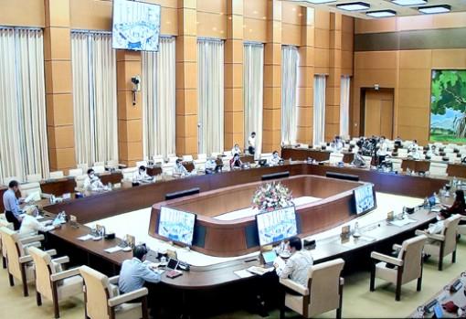 UBTVQH xem xét về dự án Luật Biên phòng Việt Nam
