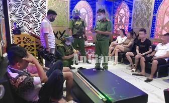 Phát hiện 19 nam, nữ có mặt tại Karaoke Gold Star dương tính với ma túy đá