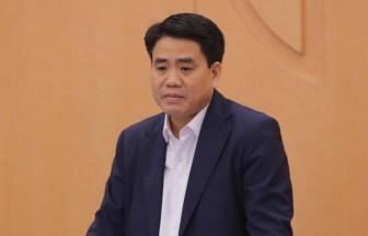 Đình chỉ chức vụ Phó Bí thư Thành ủy Hà Nội với đồng chí Nguyễn Đức Chung