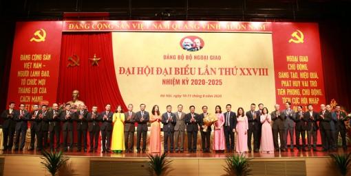 Khai mạc Đại hội Đại biểu Đảng bộ Bộ Ngoại giao nhiệm kỳ 2020-2025