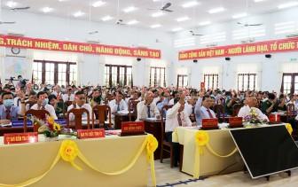 Phiên trù bị Đại hội đại biểu Đảng bộ huyện Phú Tân lần thứ XII (nhiệm kỳ 2020-2025)