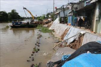 Tập trung xử lý sạt lở bờ sông, bờ biển tại Đồng bằng sông Cửu Long