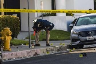 Xả súng tại một bữa tiệc tại Mỹ khiến 5 người bị thương