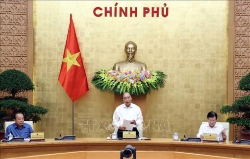 Thủ tướng chủ trì họp chuyên đề xây dựng pháp luật