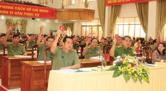 Tập trung xây dựng Đảng bộ Công an An Giang trong sạch, vững mạnh về mọi mặt