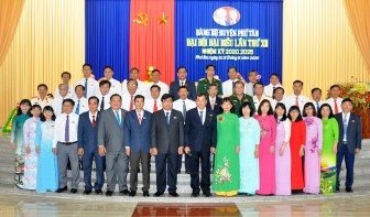 Đại hội đại biểu Đảng bộ huyện Phú Tân lần thứ XII (nhiệm kỳ 2020-2025) diễn ra thành công tốt đẹp