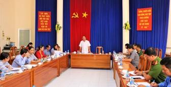 Họp Ban tổ chức Lễ kỷ niệm 132 năm ngày sinh Chủ tịch Tôn Đức Thắng