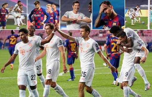 Hủy diệt Barcelona 8-2, Bayern Munich hiên ngang vào bán kết