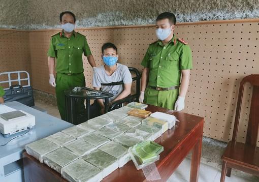 Phá hai chuyên án, thu 43,56 kg ma túy các loại