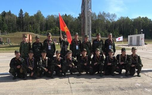 Các đội tuyển Việt Nam thi đấu tự tin tại Army Games 2020