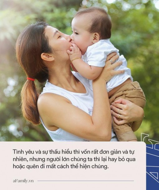 Ngoài câu nói 'Bố/mẹ yêu con' thì đây là những cách giúp cha mẹ thể hiện tình yêu với trẻ mỗi ngày