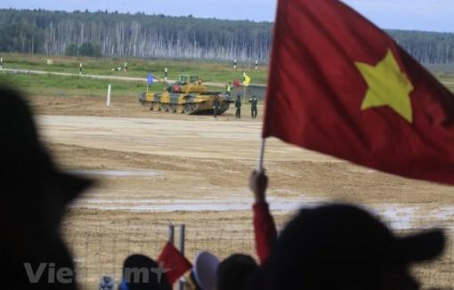 Đoàn Việt Nam tiếp tục đạt vị trí cao tại Army Games 2020