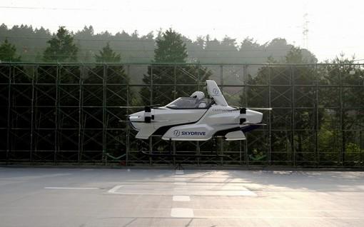 Nhật Bản thử nghiệm thành công nguyên mẫu của xe bay