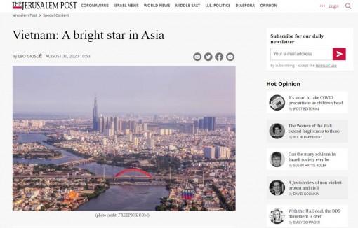 Truyền thông Israel ca ngợi Việt Nam là ngôi sao sáng của châu Á