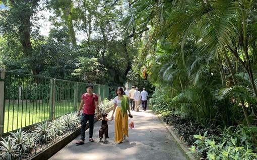 Người dân TP. Hồ Chí Minh chọn các điểm tham quan thành phố trong dịp nghỉ Lễ 2-9