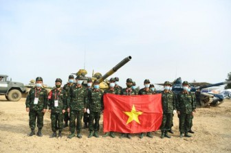 Đội tuyển xe tăng Việt Nam vô địch Tank Biathlon 2020