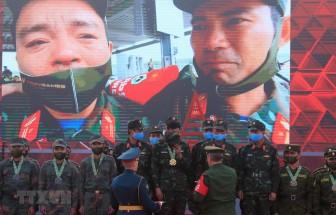 Vỡ òa cảm xúc khi Xe tăng hành tiến Việt Nam giành giải tại Army Games 2020