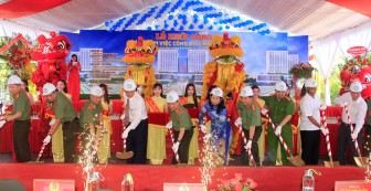 Khởi công xây dựng cơ sở làm việc Công an tỉnh An Giang