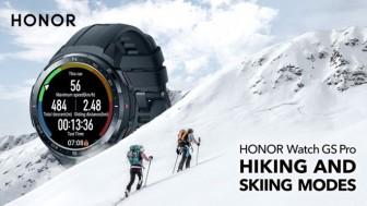 Honor ra mắt Honor Watch GS Pro và ES với pin kéo dài nhiều ngày