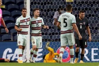 Không Ronaldo, Bồ Đào Nha vẫn thắng đậm Á quân World Cup