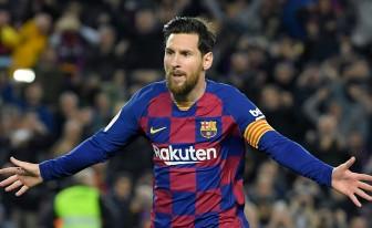 Messi chính thức ở lại Barca