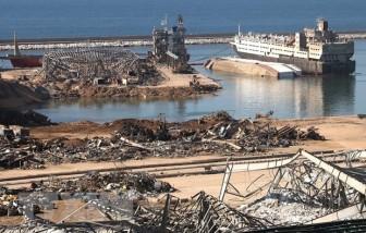 Vụ nổ ở Beirut: Quân đội Liban xử lý hơn 4 tấn vật liệu nổ