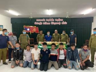 Triệt phá đường dây vận chuyển trái phép 10kg ma túy từ Lào về Việt Nam