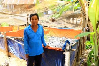 Hiệu quả từ mô hình nuôi lươn mùa nước nổi