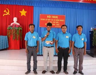 Thành lập Hợp tác xã nông nghiệp Ô Lâm