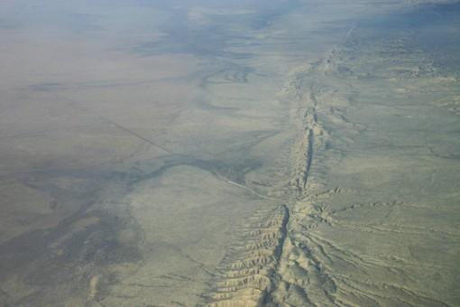 Vỏ Trái Đất bị trượt bên dưới tiểu bang của Mỹ