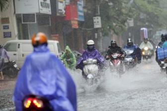 Từ ngày 11 đến 20-9, nhiều khu vực có mưa dông, đề phòng thời tiết nguy hiểm